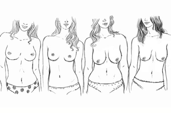 7 types of breast shapes